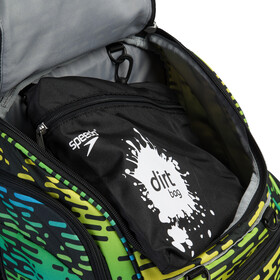 speedo Teamster Mochila L, black/blue/green/yellow print